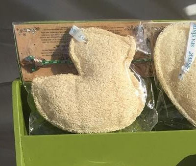 Duck Shaped Loofah Sponge