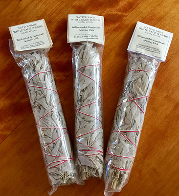 Wildcrafted Ceremonial Sage Bundles